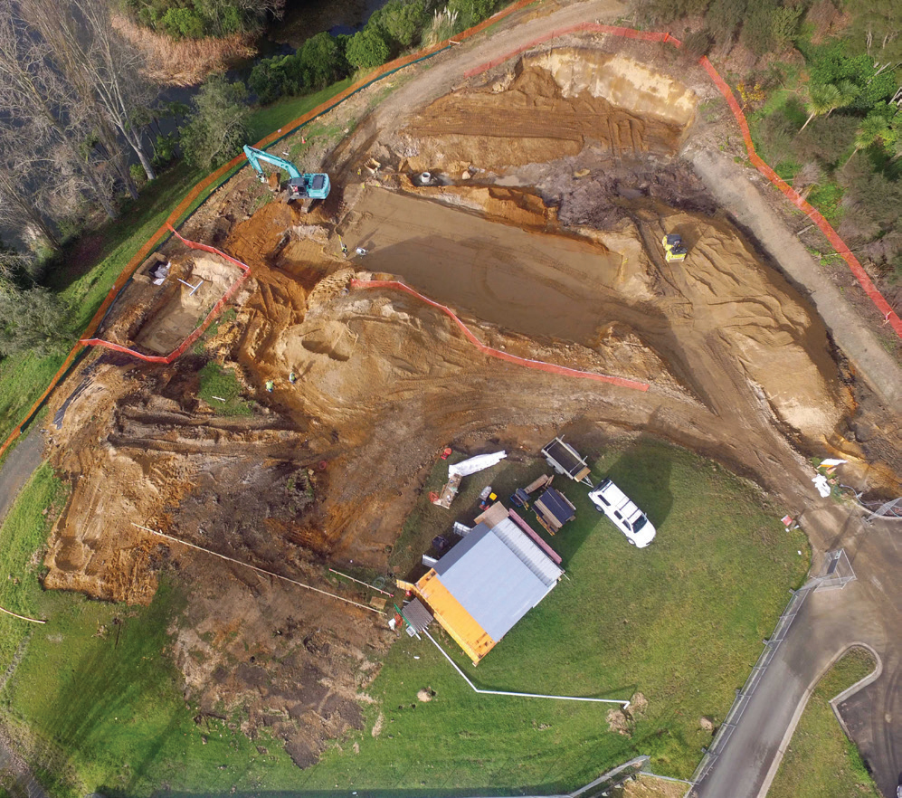 Unexpected geo-technical challenges meant Lobell Construction had to have the expertise to solve these complex issues.