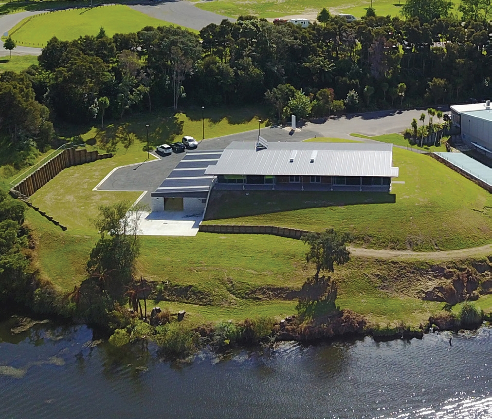 """""""The completed building is one that Canoe Racing New Zealand and the community are immensely proud of."""""""