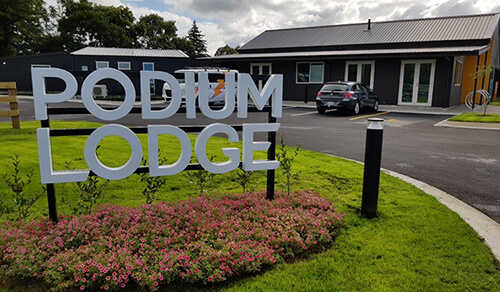 Podium Lodge was a design and build project for Lobell Construction. It was a project built on the idea that athletes would come and experience living as a team to train and learn their chosen sport.
