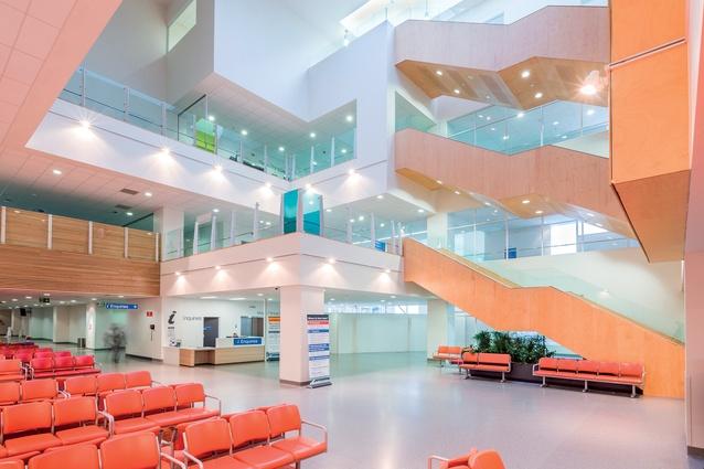 Radius Care Glaisdale Facility Lobell Construction Health